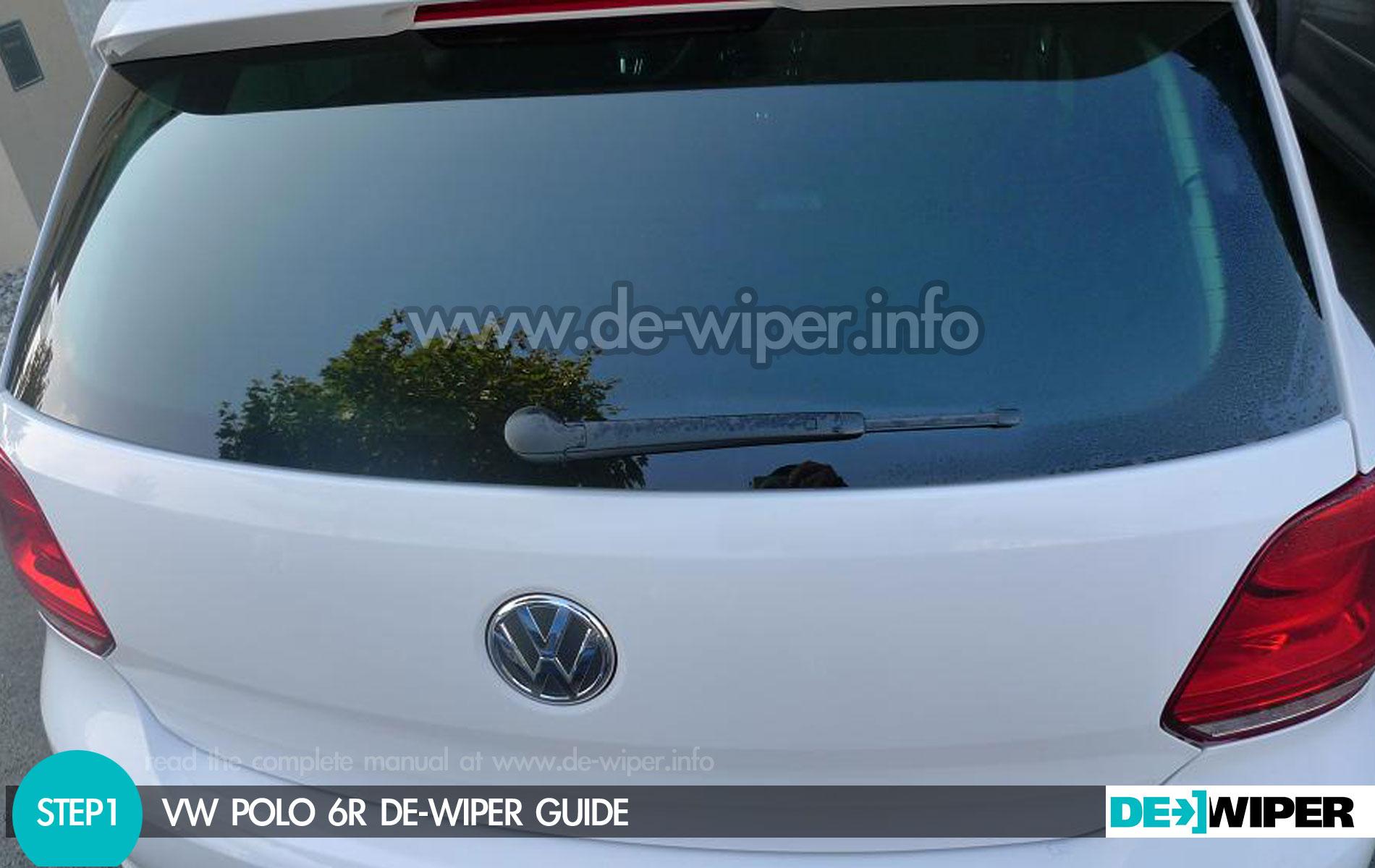 Manuel Removed The Wiper Of His Polo 6r De Wiper The World