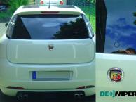 Fiat Grande Punto with Plug